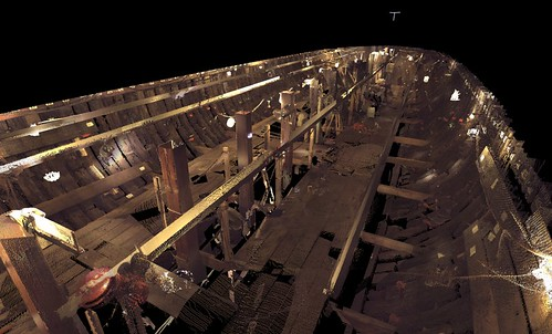 Textured 3D laser scanning of the Charles W. Morgan | by Mystic Seaport