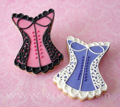 Corset cookies | by L&V sweets