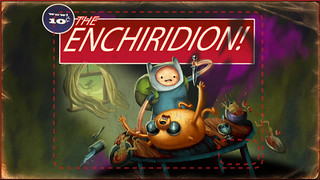 "Rejected Title Card for ""The Enchiridion!"" 