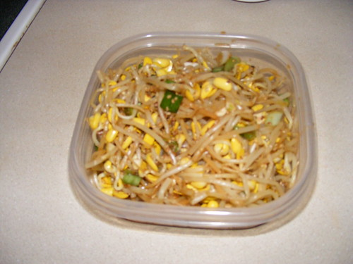 seasoned soybean sprouts | by Christine010986