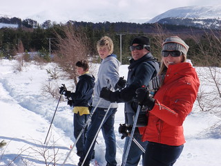 nordic track skiing with fullonadventure 1 april 2010 | by Full On Adventure