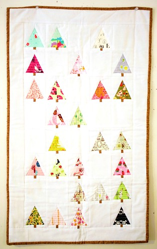 Little Forest Wall Quilt | by Will Walk for Coffee