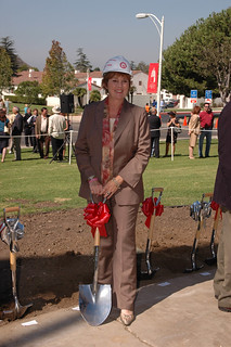Kathy Long at the Broome Library Groundbreaking | by California State University Channel Islands