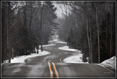 Northport Road In The Winter | by DMoutray - Denny Moutray Photography