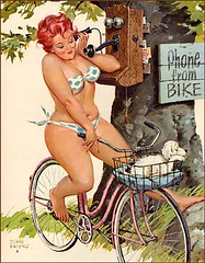 "Here's mine: pinup girl ""Hilda"". Can't imagine why I like her. :) 