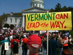 Vermont Single-Payer Health Care Rally | by Jobs With Justice