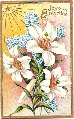 Vintage postcard, Easter greetings | by CGoulao
