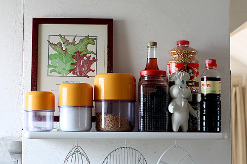 my kitchen shelf | by David Lebovitz