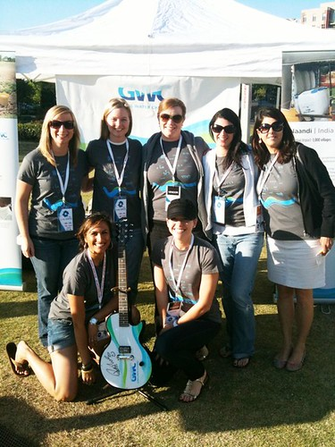 Rob Thomas-signed Global Water Challenge Guitar | by Live Earth