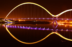 Middlesbrough Infinity Bridge Night Shot | by capturedcanvas.co.uk