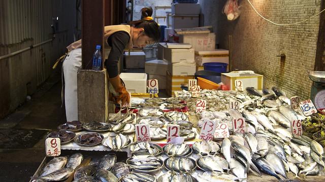 Wan Chai markets, Hong Kong