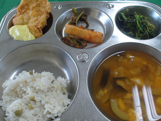 school lunch in Korea - korean food | by hellaOAKLAND
