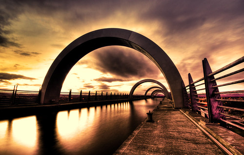 Falkirk Wheel at Sunset - good news and bad news | by Semi-detached