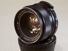 Mamiya/Sekor 55mm f/1.8