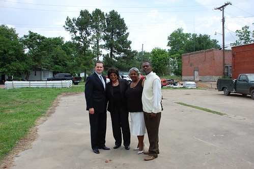 Cotton Plant Groundbreaking Arkansas Recovery And