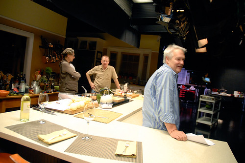 On the set of Essential Pepin at KQED | by bayareabites