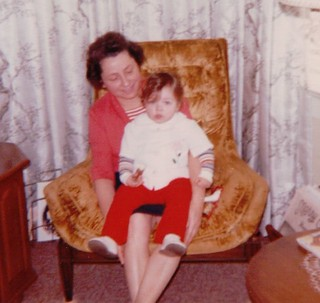 Becke with Edith Mama, Christmas 1973 | by beckeboyer