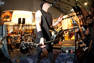 Rancid at Gretsch 2010 Showcase | by gretschguitars
