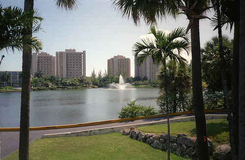 University of Miami Lake 1987 and Towers | by Dave Dugdale