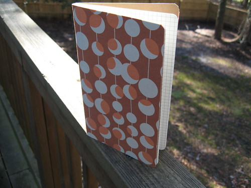 Fabric Covered Moleskine | by j_q_adams