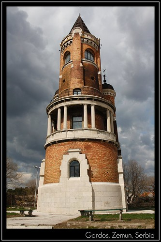 Zemun Serbia  city photos gallery : Gardoš tower, Zemun, Serbia | Gardoš Serbian Cyrillic: Гард ...