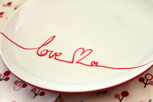Valentines Plate | by The Treacys