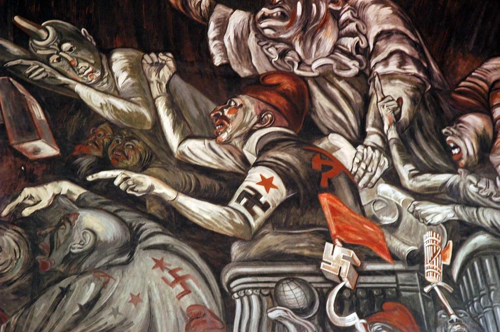 Jos clemente orozco mural governor 39 s palace palacio de for Aviso de ocasion mural guadalajara