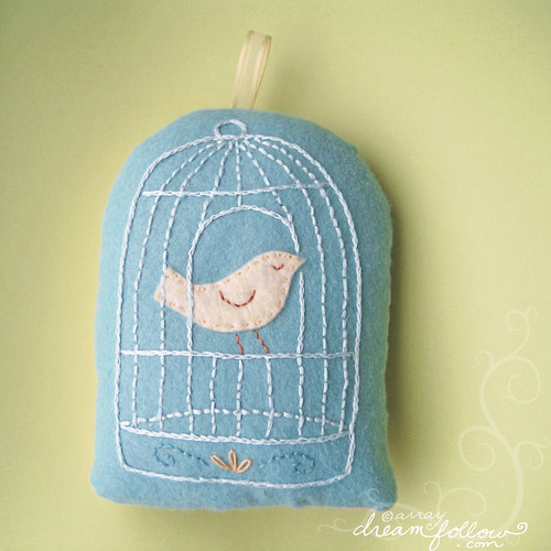 Canary pillow | by merwing✿little dear