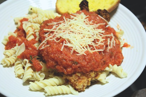 Light Chicken Parm | by niftyfoodie
