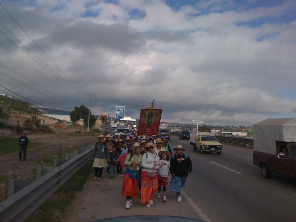 Listos para apoyar a los peregrinos hasta el Tepeyac