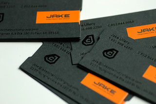 JAKE Construction business cards | by SupremeDevice
