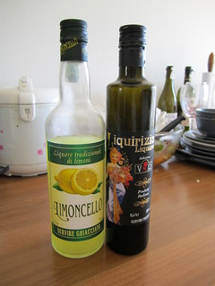 Limoncello and Licorice drink | by veganbackpacker