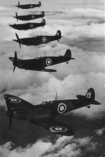 Fighter squadron in formation | by The National Archives UK