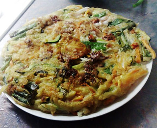 Shella 's  vegetable pancake (Yachaejeon) | by maangchi
