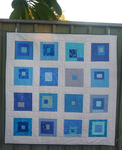 blue squares quilt. | by mini_milly04