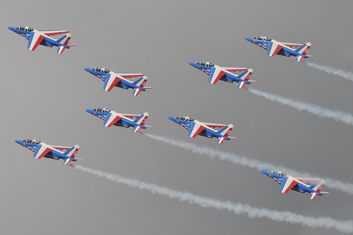 RIAT RAF Fairford 2010.  Patrouille de France | by dennisgoodwin