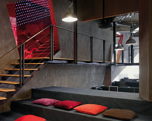 Break Out Area Stairs From A Project By M Moser Flickr