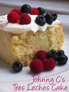 Johnny C's tres leches cake | by awhiskandaspoon