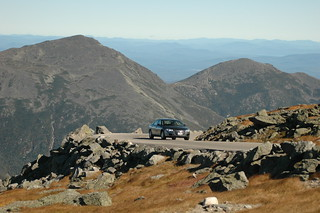 Nice level section of road | by Mt.Washington Auto Road