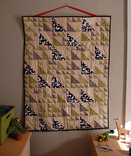 rainer's triangle baby quilt | by alexisanneg