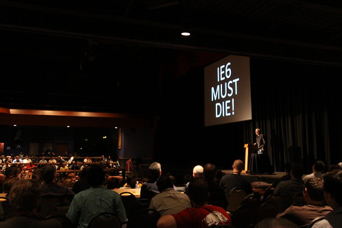 Douglas Crockford at Strange Loop 2010: IE6 Must Die! | by Vilhelm K. Vardøy
