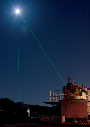 Goddard Celebrates International Observe the Moon Night with Laser Show | by NASA Goddard Photo and Video