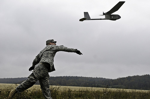 UAV launch | by The U.S. Army