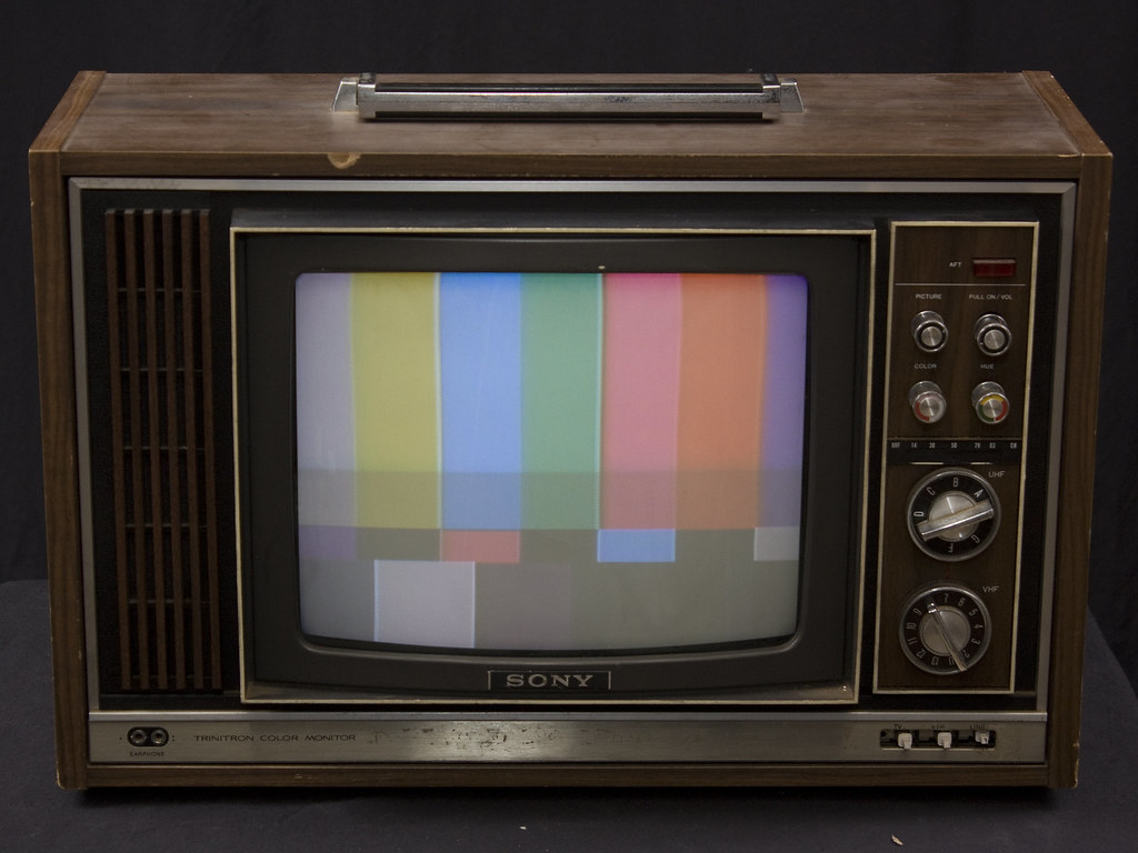 Sony CVM-1225 Trinitron color monitor/receiver, 1975