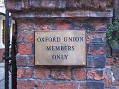 Entrance to Oxford Union