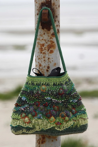 crocheted purse | by MarianneS