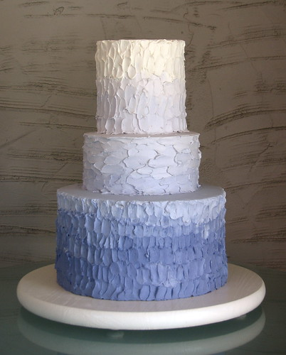 Ombre Wedding Cake | by Whipped Bakeshop