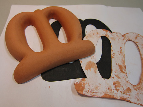 Clay model for chocolate letter | by Marina Chaccur