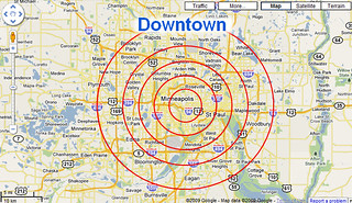 Downtown & Proximity in Google Maps | by Si1very