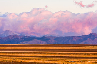 Boulder County Farm Fields At First Light Sunrise | by Striking Photography by Bo Insogna